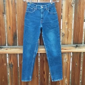 Levis vintage 550 mom jeans high rise size 25